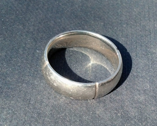 San Francisco Metal Detecting Lost Ring Tag The Ring Finders