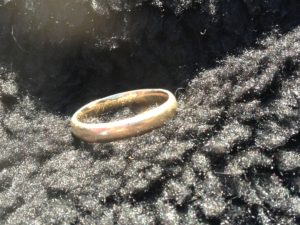 Tony's Custom Wedding Band