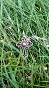 "Lost Silver Cross Necklace in Delaware, OH. ""FOUND"""