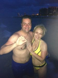 Lost ring found south beach at night in the ocean!!