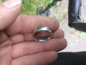 Lost Platinum Ring Found Tag The Ring Finders