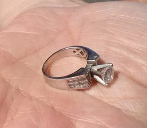 I Received A Call From Jerry In The Morning He Is San Jose And Was Santa Barbara With His Wife Son Lost Her Wedding Ring When She