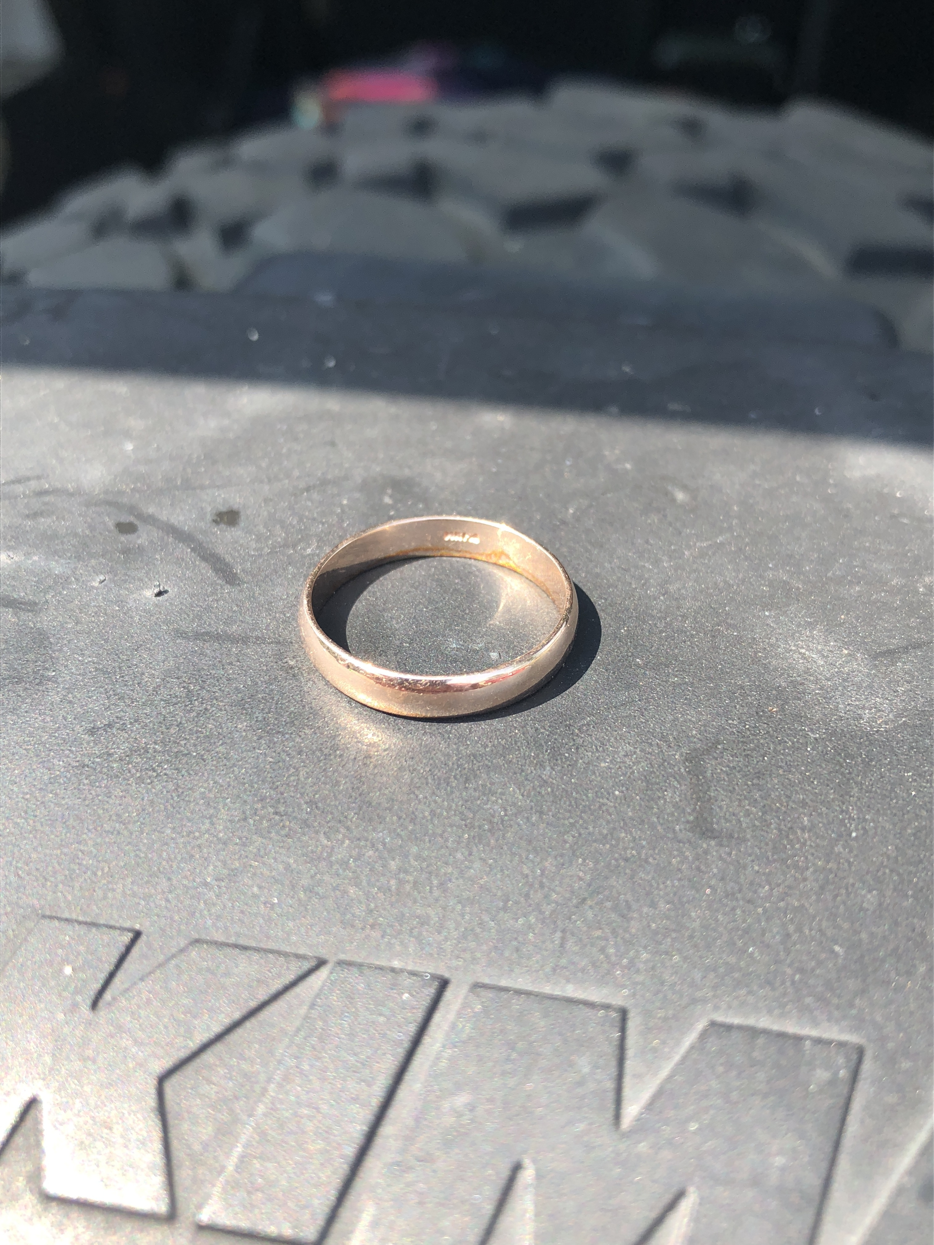 Lost Gold Ring Recovered In Little Pike Lake Warsaw Indiana