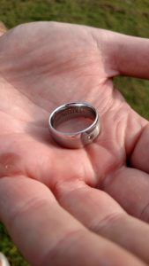"Lost Man's Titanium Wedding Ring in Laurelville, OH. ""FOUND"""
