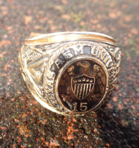 University Ring Found by Brian Rudolph, lost ring in snow, lost and found