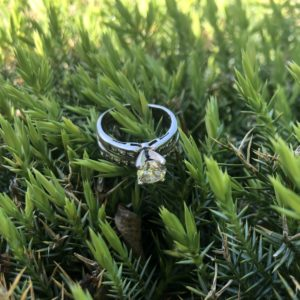 How to find a lost ring with metal detector