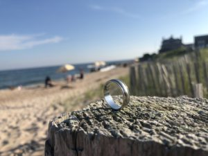 How to find a lost ring in the sand