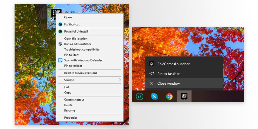 How to uninstall Epic Games Launcher from Windows 10 PC