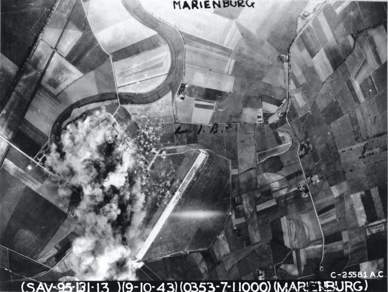 hight resolution of this strike photo was taken from b 17 42 30353 ten knights