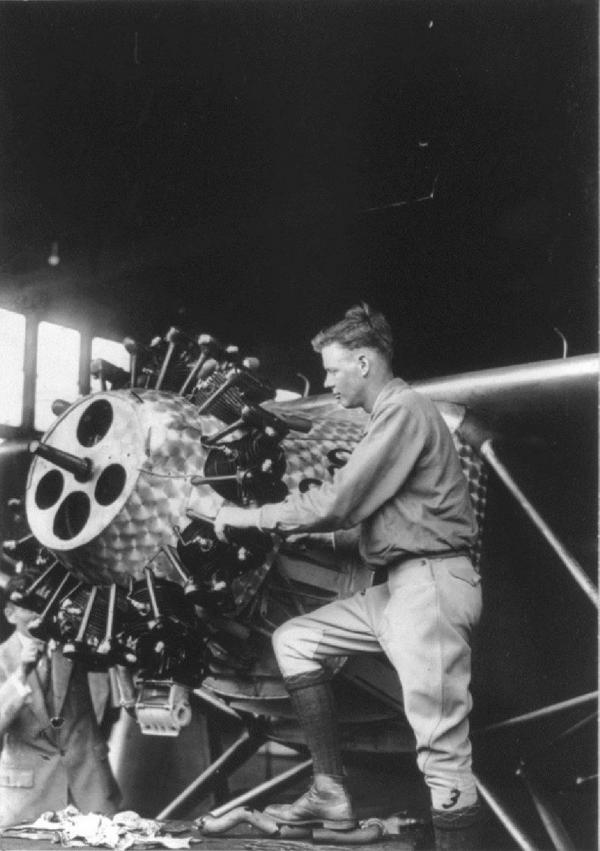 "Charles . Lindbergh' Ryan Nyp Nx211 ""spirit Of St"