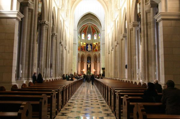 Almudena Cathedral - Church In Madrid Thousand Wonders