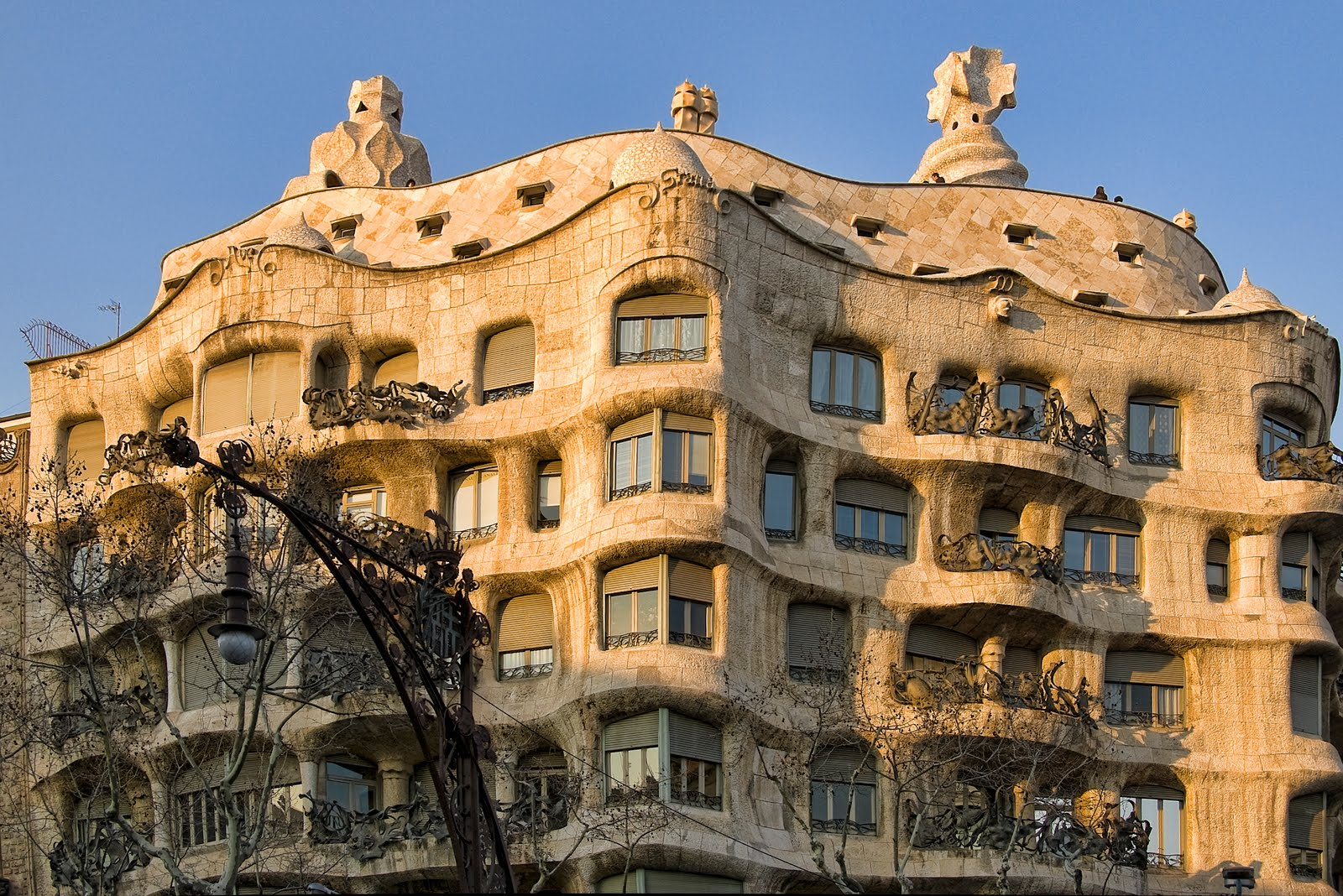 Casa Mil  Public Building in Barcelona  Thousand Wonders