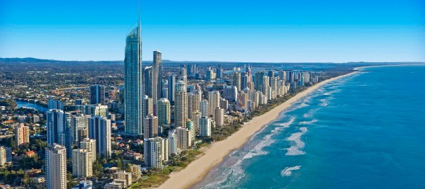 Gold Coast City in Queensland Sightseeing and