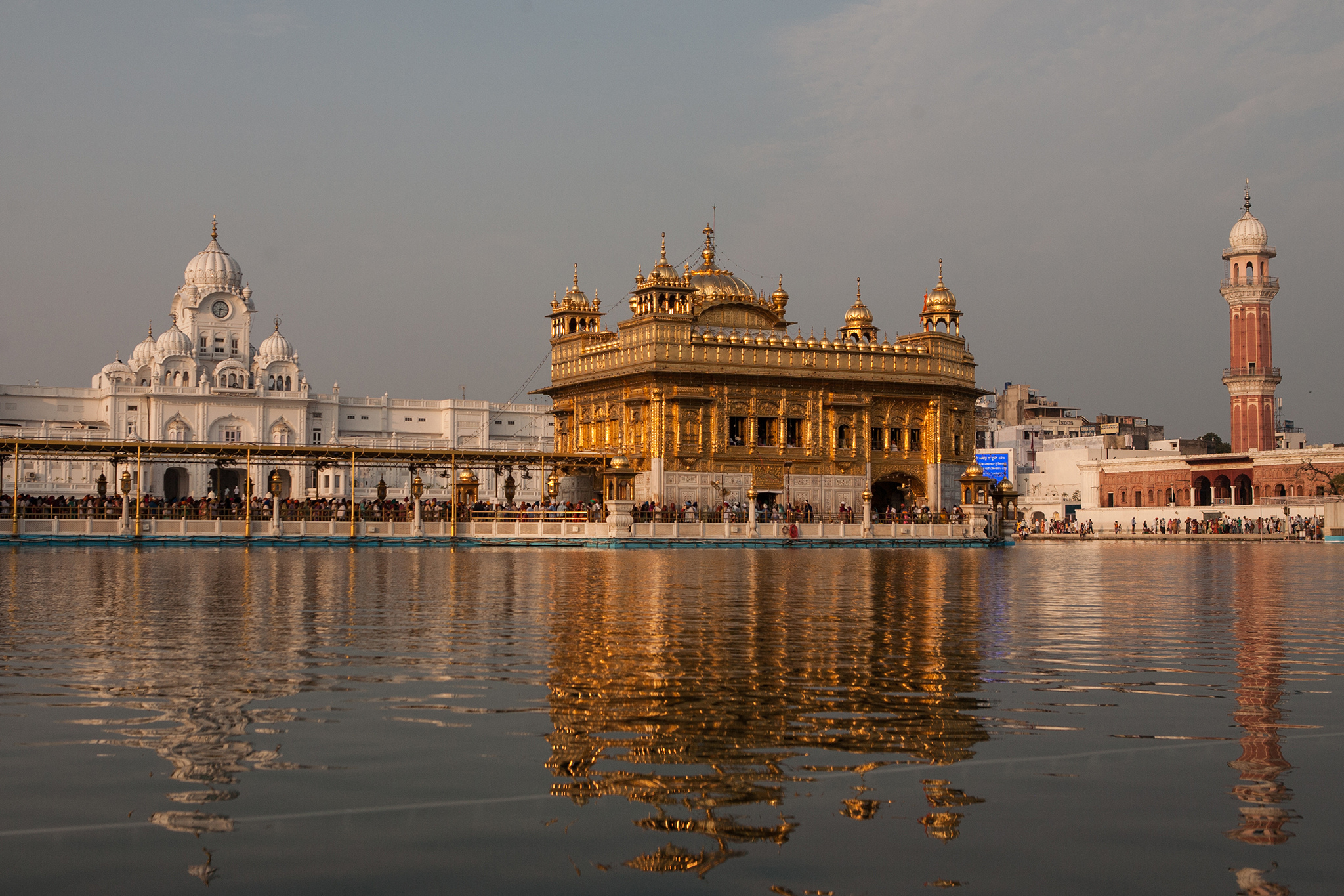 Temple India Sikh Golden