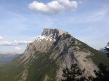 Mount Rundle - Mountain In Banff National Park Thousand