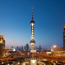 Oriental Pearl Tower - In Shanghai Thousand Wonders