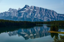 Two Jack Lake - In Banff National Park Thousand Wonders