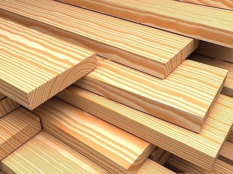 Pemprosesan kayu dan membuat bahan binaan dan kekosongan kayu