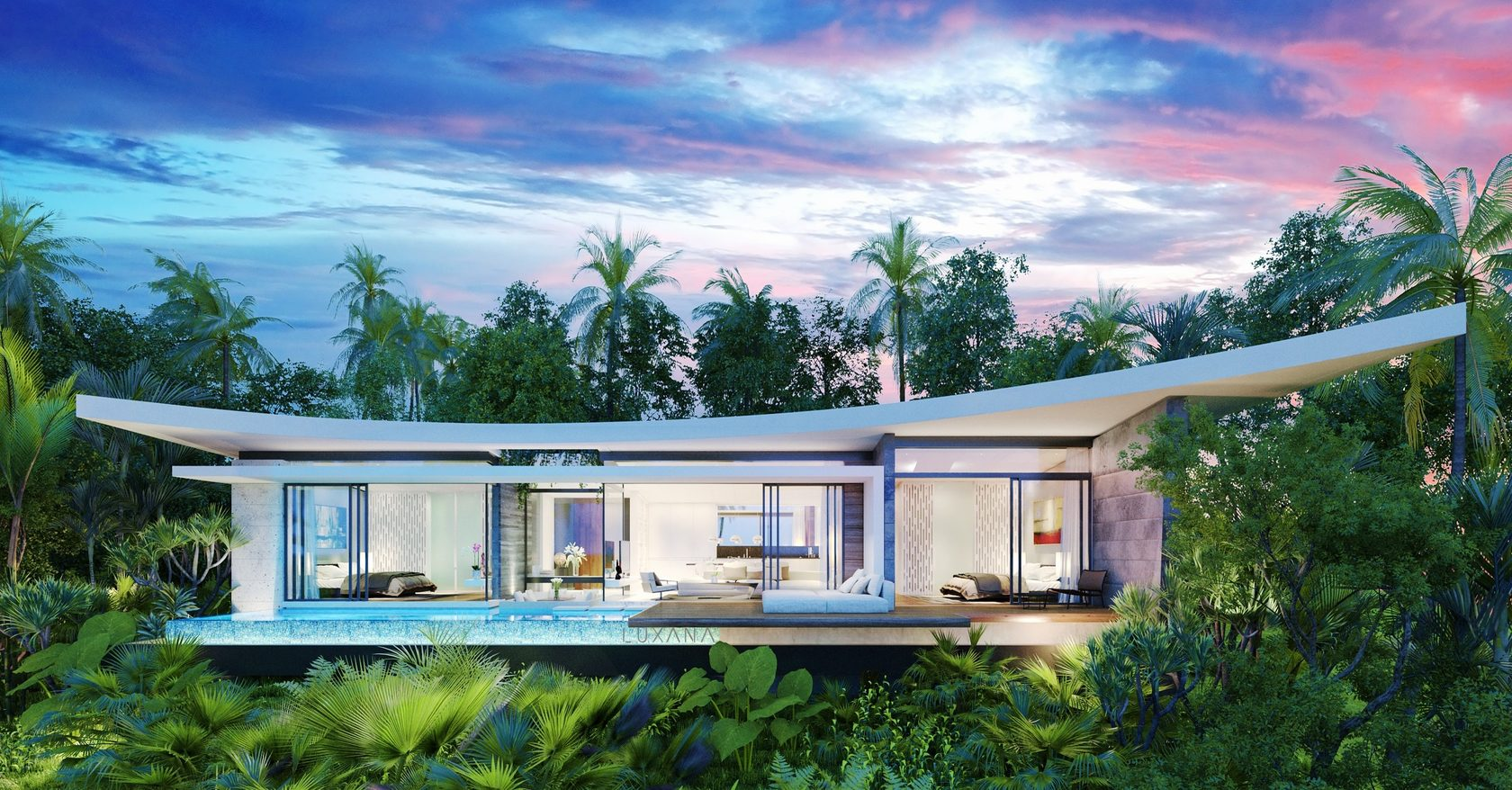Luxana Villas Contemporary High Investment Growth
