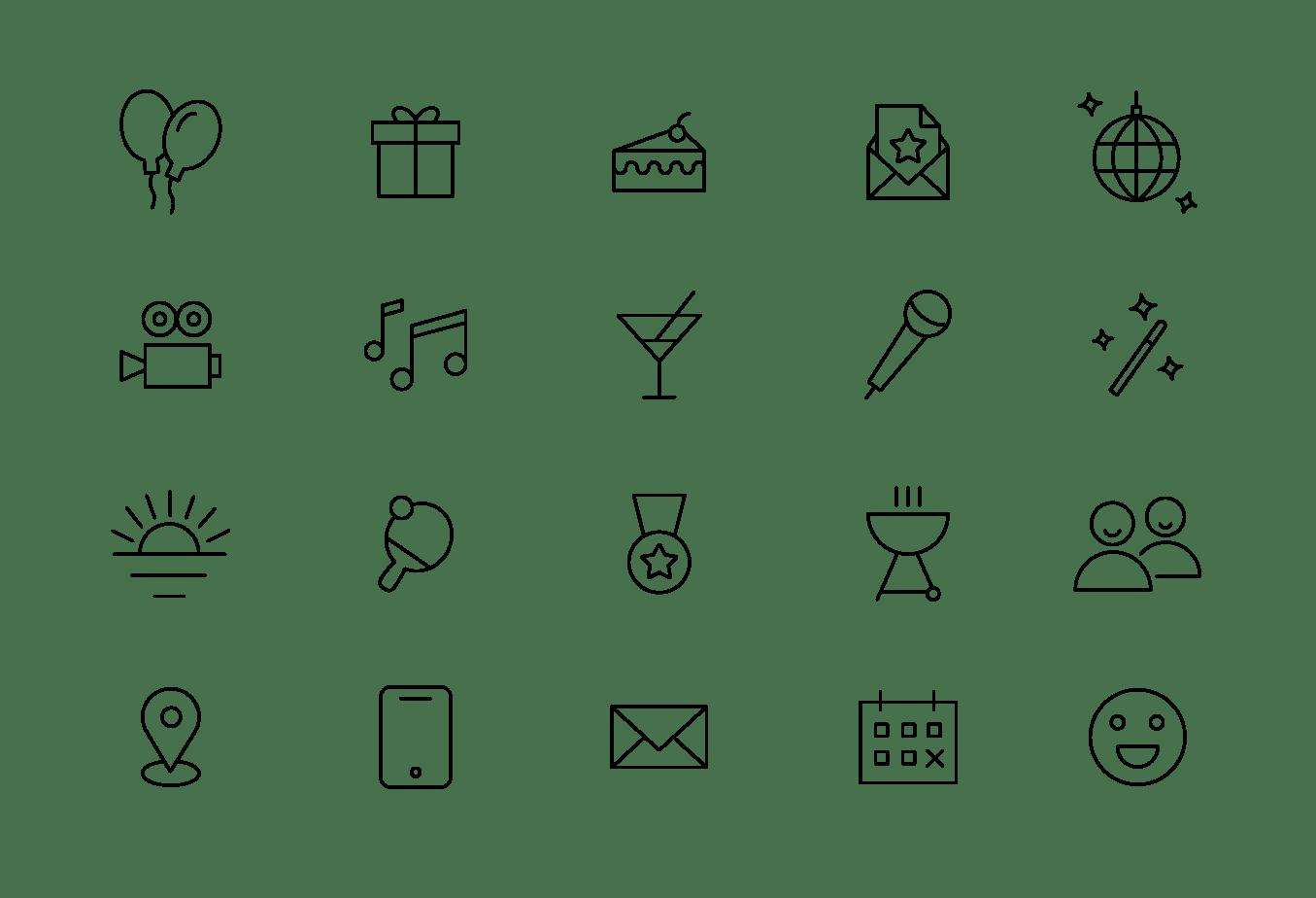 Free Icons — Tilda Publishing