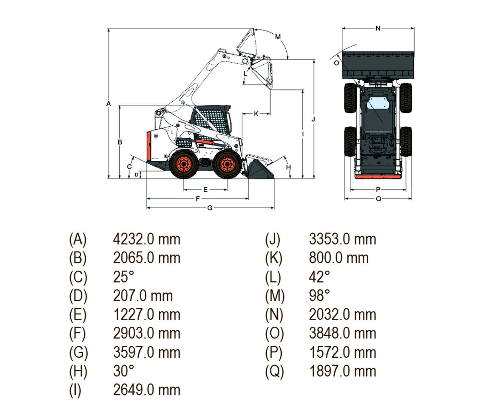Колесный погрузчик Bobcat S770 (Бобкэт) с гарантией