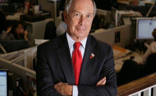 Michael Bloomberg Says He Would Self Fund A 2020