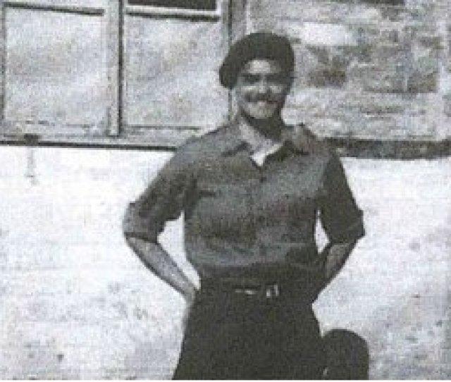 Tom Derek Bowden In Uniform