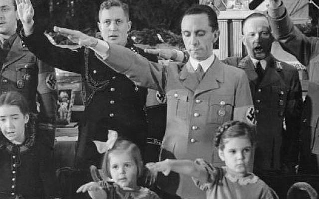 Goebbels Heirs Claim Copyright Breach The Times Of Israel