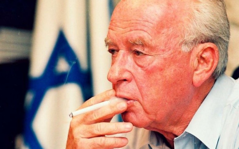 Image result for yitzhak rabin
