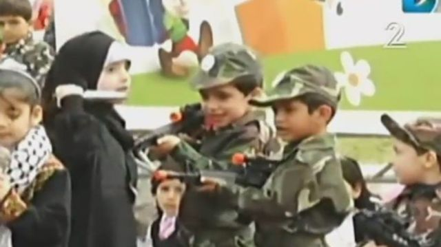 Gaza kids put on play about stabbing, killing Israelis | The Times of Israel