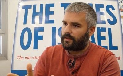 Haviv Rettig Gur on the legality of settlements   The Times of Israel