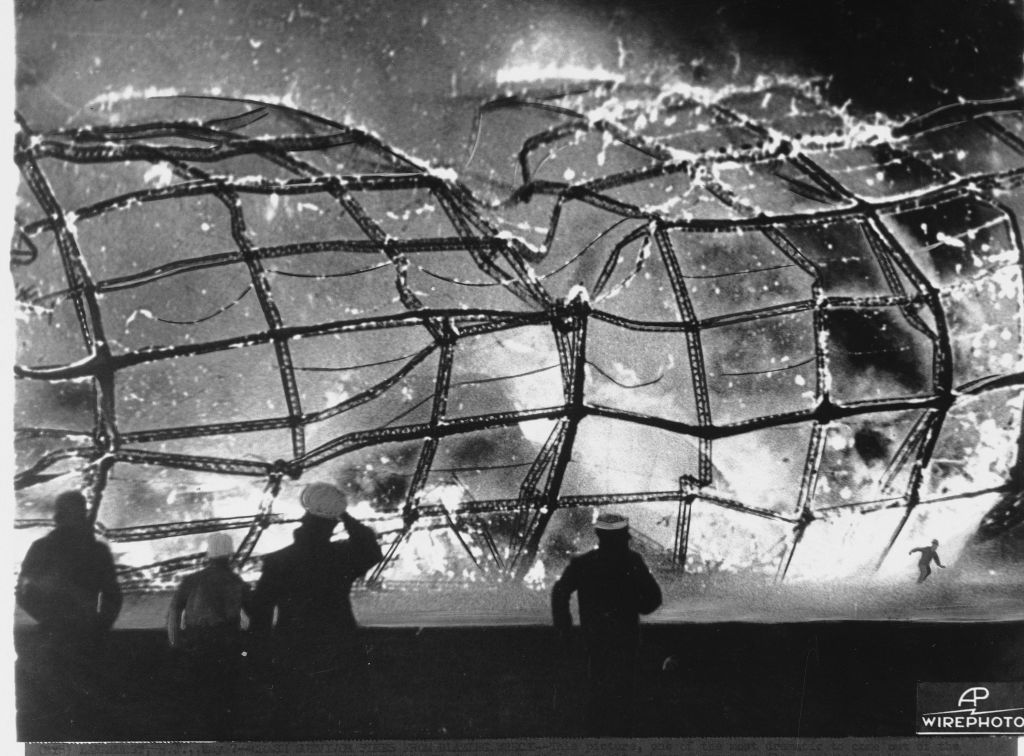 1937 Doehner Hindenburg Werner May Disaster 6