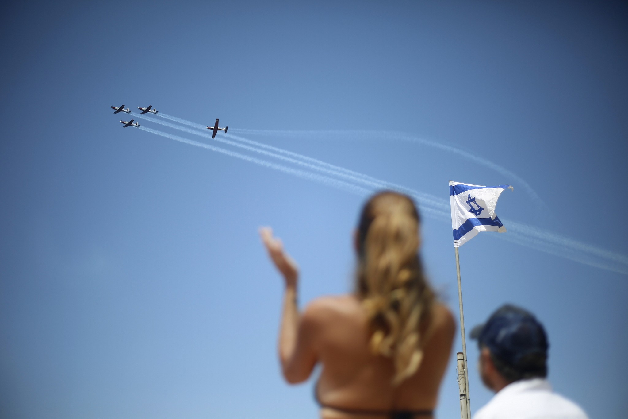 After Panic Idf Publishes Independence Day Flyby