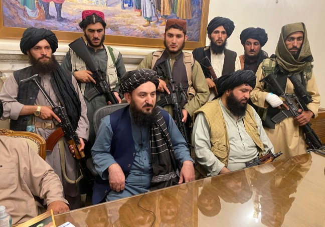 Taliban sweep into Kabul presidential palace, capping shock Afghanistan  takeover   The Times of Israel