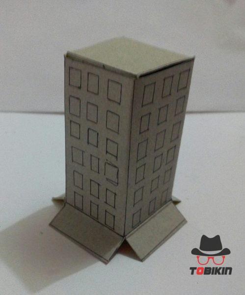 Cara Membuat Miniatur Gedung : membuat, miniatur, gedung, Membuat, Miniatur, Gedung, Sederhana, Tobikin.com