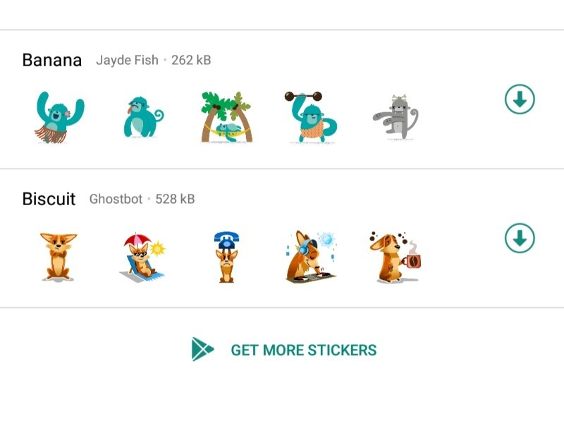 whatsapp stickers: How to download, send and manage sticker packs in WhatsApp | Gadgets Now
