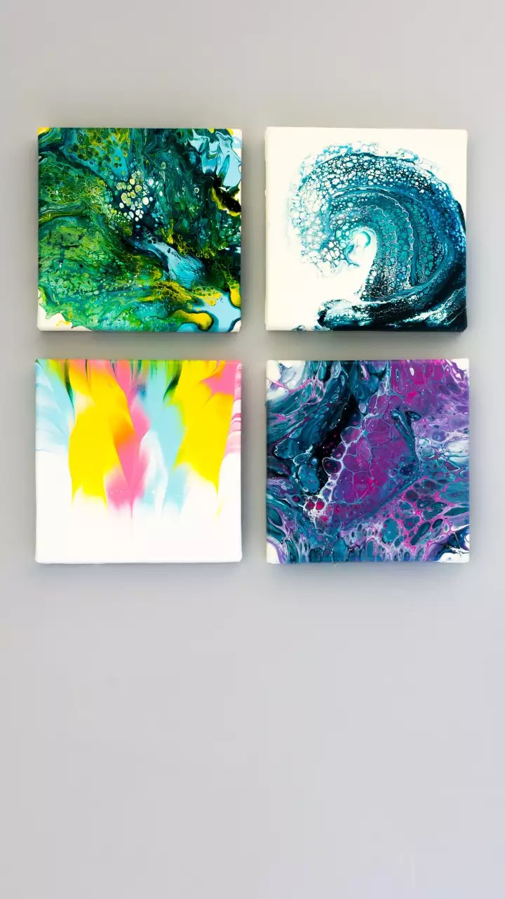 Diy Canvas Painting Ideas For Your Home Times Of India