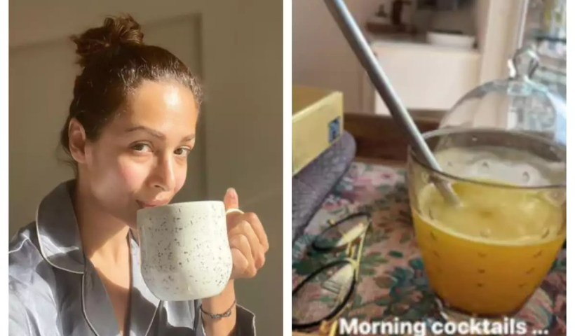 Malaika Arora's 'Morning Cocktail' is the best immunity booster    The Times of India