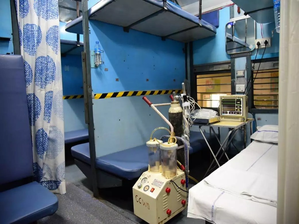 Photos: Railways coverts coaches into isolation wards for COVID-19 ...