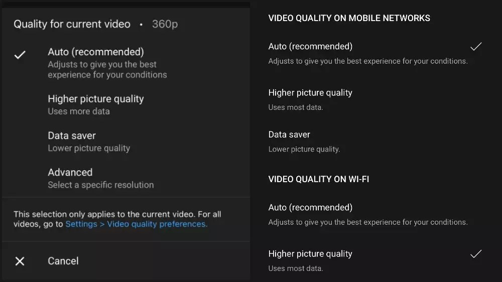 YouTube users will have more control over video streaming quality on mobile – Times of India