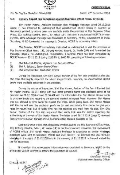 NCERT questions whistle-blower's claim   India News 4