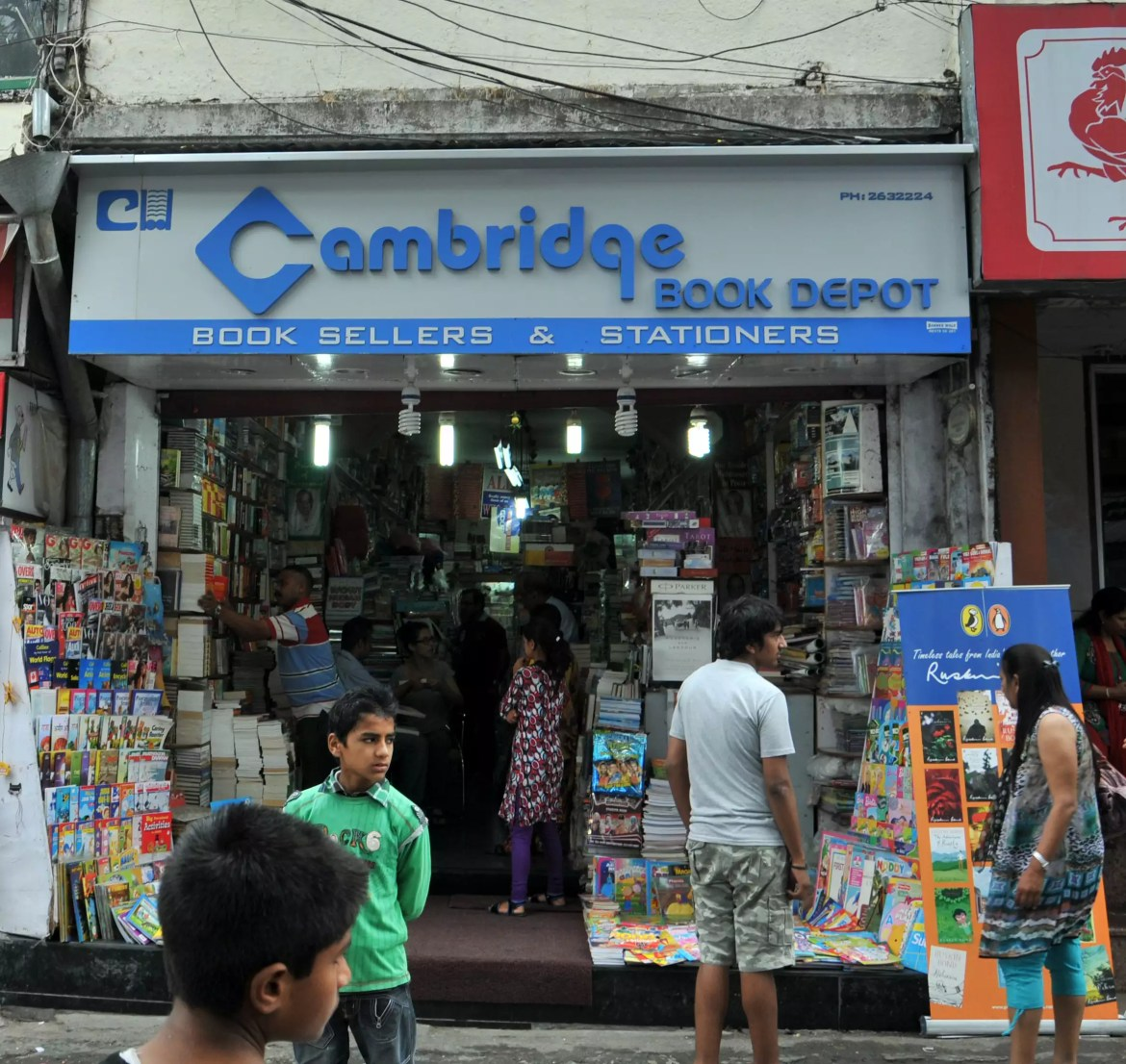 Image result for cambridge bookstore mussoorie