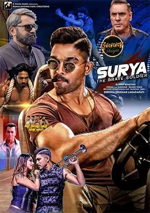 Download Surya The Soldier (2018) Hindi Dubbed Movie 480p | 720p