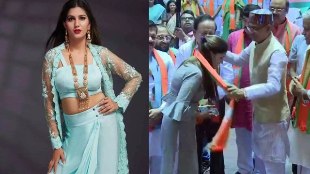 Sapna Chaudhary, Haryanvi Singer And Dancer Sapna Chaudhary Joins BJP