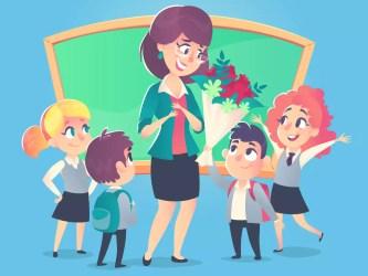 teachers teacher happy den classroom why clipart value education skola wishes september history dag aula lyckliga posting students flowers thank