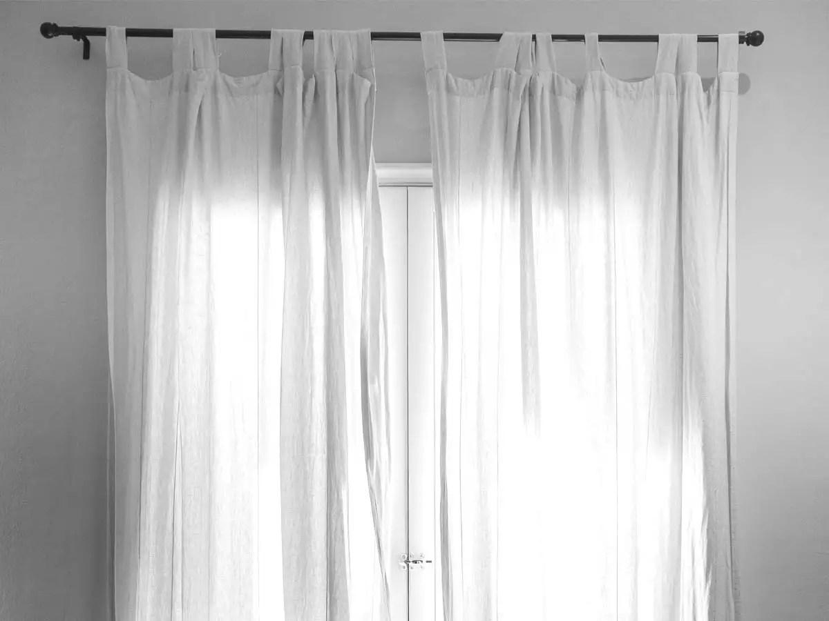 metallic curtain rods for stylish