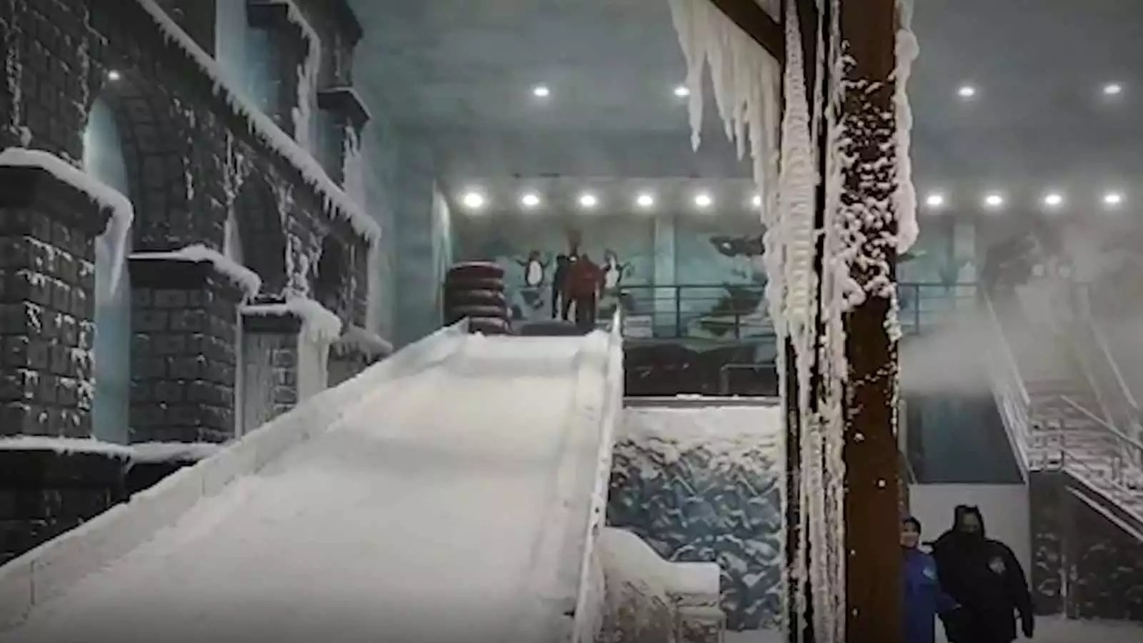 It's a unique blend of indian hospitality & Maharashtra Snow World Launched At Seawoods Grand Central Mall In Navi Mumbai City Times Of India Videos