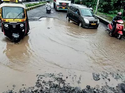 Thane to use American solution to fill potholes
