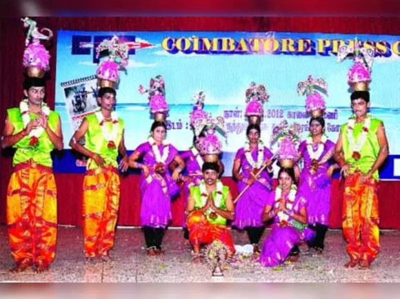 Academy to promote age-old folk dance form of Karagattam in ...