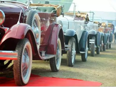 Timeless Vintage Cars Recreate Old Day Charm Delhi News Times Of India